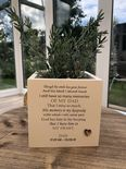 Personalised Flower / Plant Pot In Memory Loved One DAD Memorial MUM OR ANY NAME